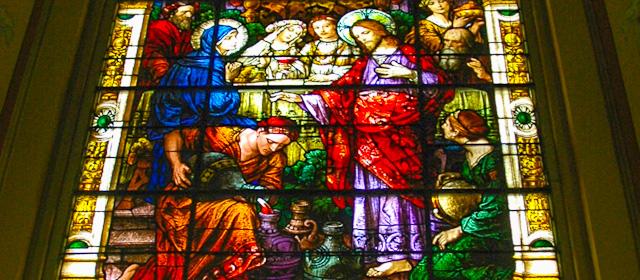 Window -- Wedding at Cana